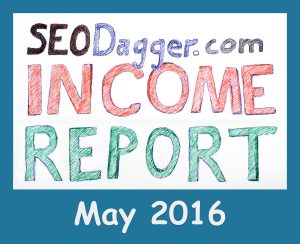 Income Report May 2016